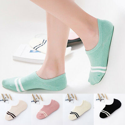 Women's Cotton Loafer Boat Anti skid Non slip Invisible Low Cut Socks Ankle Sock