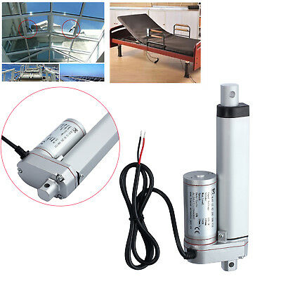100 200mm Linear Actuator Motor DC 12V 750N 165LBS Car RV Electric Door Opener