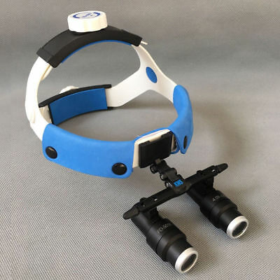 New 4X 6X Dental Surgical Medical  Headband Magnification Lens Loupes Microscope