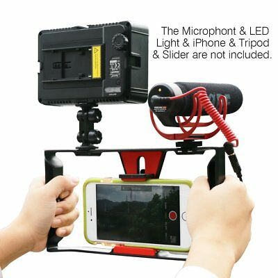 Smartphone Video Rig Ulanzi iPhone Filmmaking Recording Vlogging Rig Case