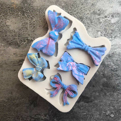 1PC Bow Tie Silicone mold fondant mold cake decorating tools chocolate mold XJ