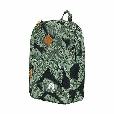 342b6a3e7d HERSCHEL SUPPLY CO HERITAGE 21.5L BACKPACK (BLACK GRID) MSRP 60 BRAND NEW  w TAG! -  44.95