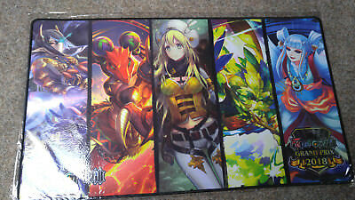 Force of Will Grand Prix 2018 Basisherrscher Basic Ruler Playmat Spielmatte