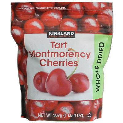 KIRKLAND Signature Tart Montmorency Cherries Whole Dried 576 g Made in U.S.A.