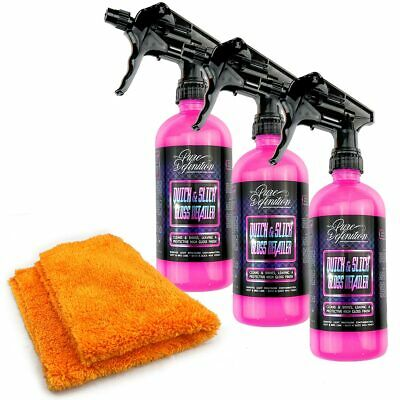 Quick Detailer Kit | High Gloss Spray Wax | Car Care Showroom Cleaning Shine