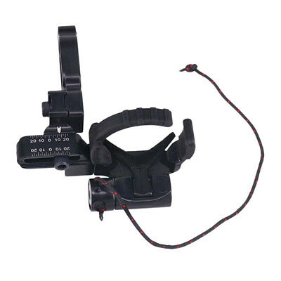 Black Drop Away Arrow Rest for Archery Hunting Compound Bow for Left Hand