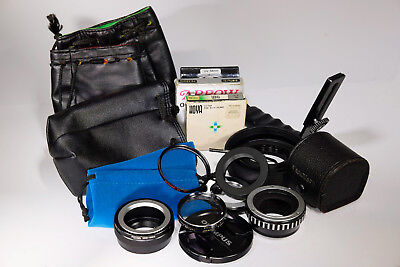 Assorted Camera Accessories, Lens Bags, Filters, Adapters, Etc.