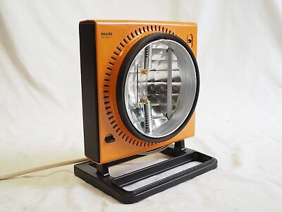 Vintage Philips Sunlamp Ultraphil Special Infrared Ultraviolet Settings UV IR