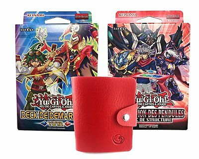 Carte Yugioh Lot de 2 Decks en VF YUYA et DOMINATION DES PENDULES + 1 KDO