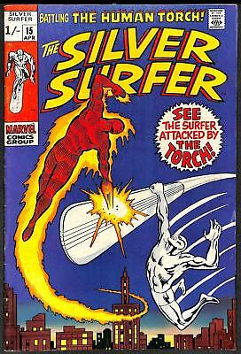Silver Surfer #15 FN