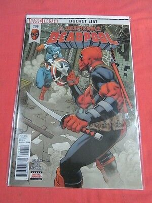 the despicable DEADPOOL #296 - LEGACY - Bagged & Boarded ..!!