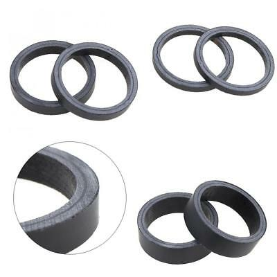 6pcs/set UD Matte Full Carbon Fibre Bike Fork Headset Spacer for Road Bicycle
