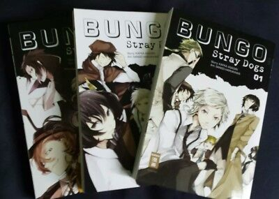 Bungo stray dogs Band 1-3 plus Extras