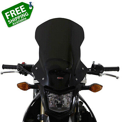 Honda CRF250L Windshield Windscreen Clear Smoked 40cm 48cm