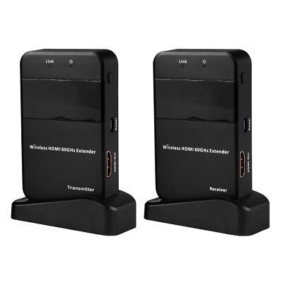 Wireless HDMI 60G Extender 1080p Full HD WiFi Deliver Transmitter Receiver AH269