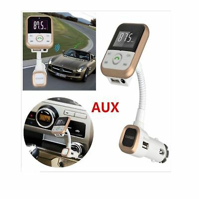 Car Wireless Bluetooth MP3 Player FM Transmitter Radio LCD SD USB Charger Kit