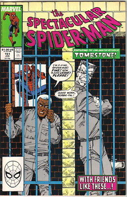 The Spectacular Spider-Man Comic Book #151 Marvel 1989 NEAR MINT NEW UNREAD