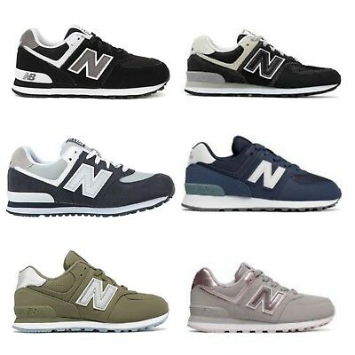 New Balance 574 Kids Casual Fashionable Athletic Sneakers sizes 3.5-7