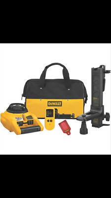 New Dewalt Self Leveling Interior And Exterior Rotary Laser Level Kit Dw074Kd
