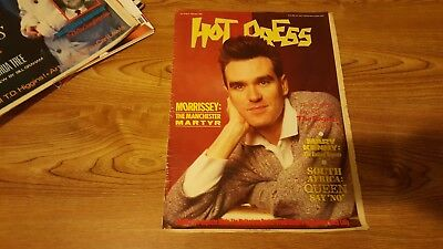 Hot Press 1986 - Morrissey Cover -  Irish Music Magazine Ireland The Smiths