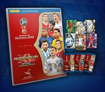 Adrenalyn World Cup Russia 2018: Choose Your Card (Limited Edition)