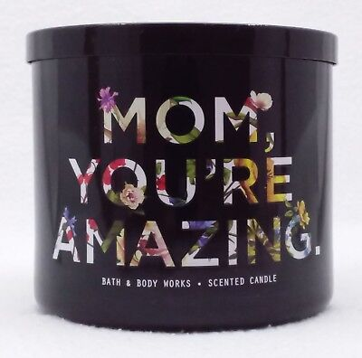 1 Bath Body Works Mom Youre Amazing ENDLESS WEEKEND 3Wick Scented Candle 14.5 oz