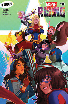 MARVEL RISING #0 (2018) MS.MARVEL + SQUIRREL GIRL Secret Warriors