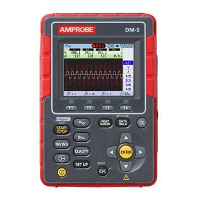 Amprobe DM-5 Power Quality Analyzer and Logger