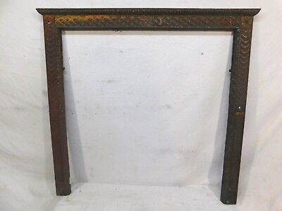 Antique Victorian Style Fireplace Surround - C. 1880 Metal Architectural Salvage