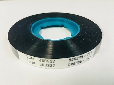 New  OEM DATACARD 150i Black Rear Indent Ribbon 596805-301 Fast Shipping USA