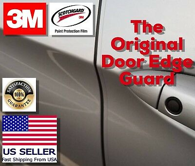 3M 4 Door Edge Guard Anti Scratch Chip Paint Strong Protection Clear Strip Car