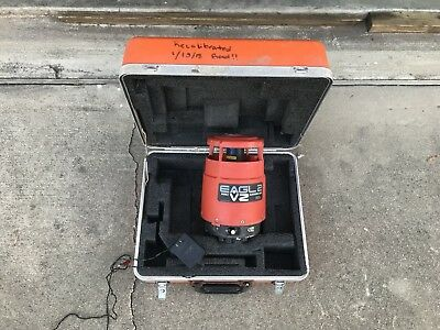 Agl Eagl-2Vz Electronic Rotary Laser Level With Case