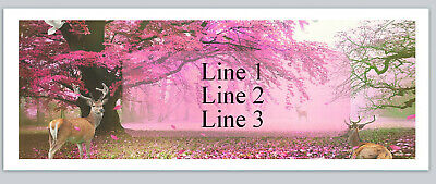 Personalized Address Labels Country Deer Buy 3 get 1 free (bx 666)