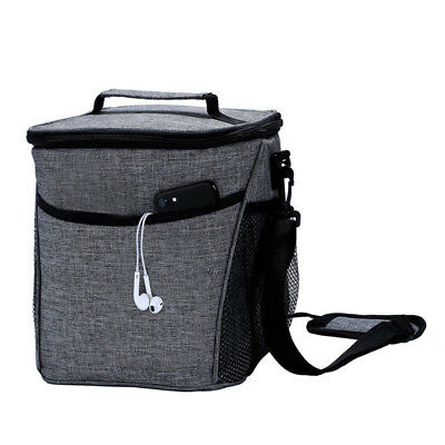 Portable Cooler Insulated Thermal Lunch Box Carry Tote Picnic Large Storage Bag