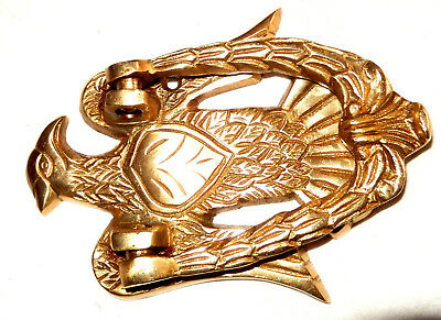 Eagle Bird Shape Vintage Antique Style Handmade Brass Door Knocker Door Pull 326