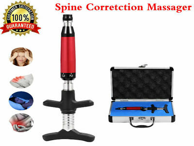 6 Level Chiropractic Adjusting Tool Therapy Spine activative Correction Massage