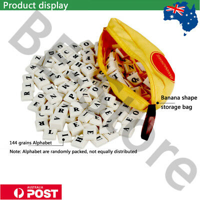Bananagrams Banana Educational Spelling Words Game Fun Puzzle Play Board Toy AU