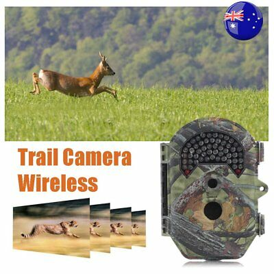 Trail Camera Wireless Farm Security Cam Waterproof Night Vision Motion