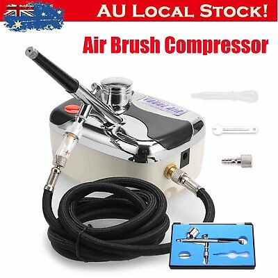 Compressor Airbrush Kit 0.3mm Dual Action Spray Air Brush Gun Art Tattoo Set