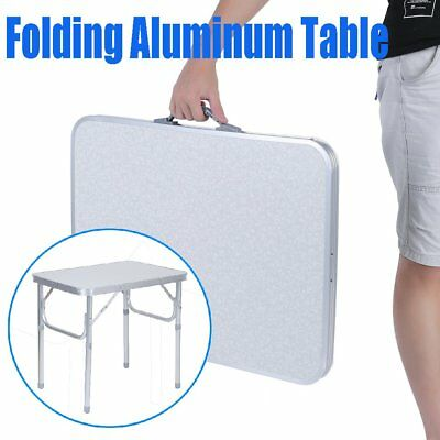 Portable Folding Aluminum Table Outdoor Indoor Picnic Party Dining Camp Desk BG#