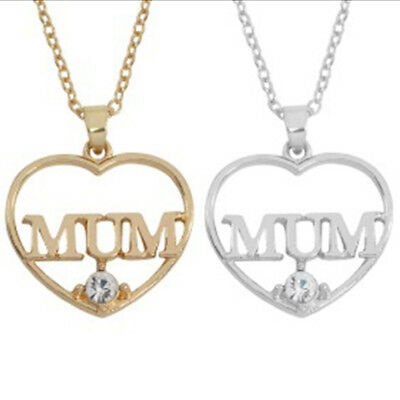 Mother's Day Gift Necklace Thanksgiving Pendant Hollow Alloy Anniversary