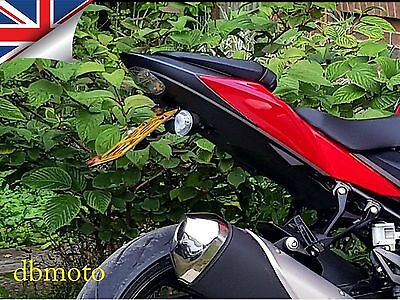 Suzuki GSX-S750 Tail Tidy.   2017 on.  To suit Original or Micro Turn Signals..