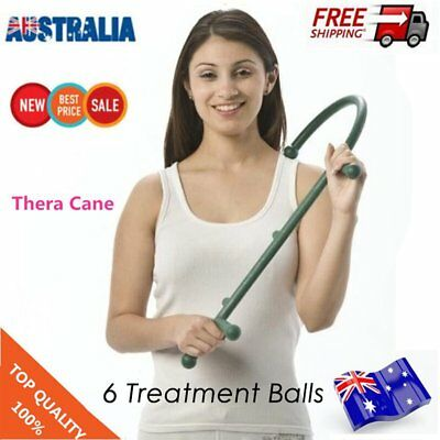 Theracane Stick Massage Shoulder AUSTRALIA Trigger Point Thera Cane Theracanes A