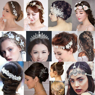 Tiara Crystal Wedding Bridal Bridesmaid Party Princess Headband Crown Headpieces