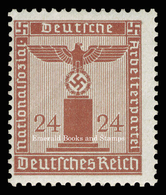 EBS Germany 1942 24 Pfennig Nazi Party Official Dienstmarke Michel 163 MNH**
