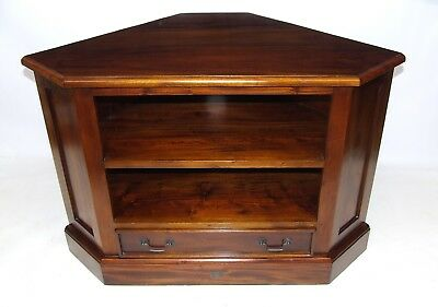 ANCIENT MARINERS Traditional Antique Style Mahogany TV Media Cabinet Stand
