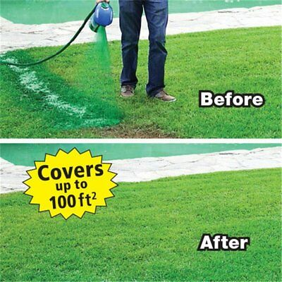 New Hydro Mousse Liquid Lawn Grass Growth Garden Sprayer Bottle No-Seed-Include