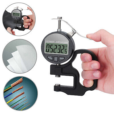 Mini Digital Manometer Differential Gauge Air Pressure Meter Data Hold & BATTERY