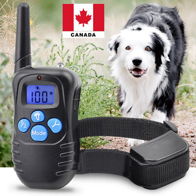 Rechargeable Electric Shock Collar for Dogs With Remote - 3 Modes Canada