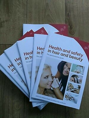 CIEH Health & Safety in hair & beauty the goid practice guide x14 booklets